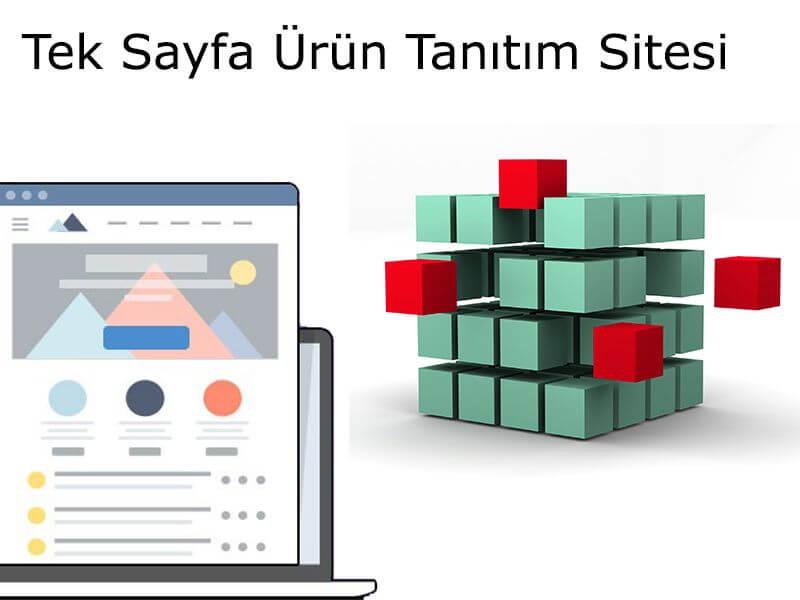 Tek Sayfa Ürün Tanıtım Sitesi